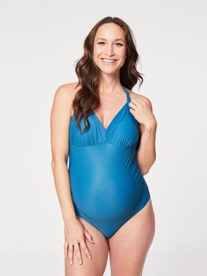 iced tea maternity swimsuit