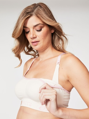 cotton candy nursing bra