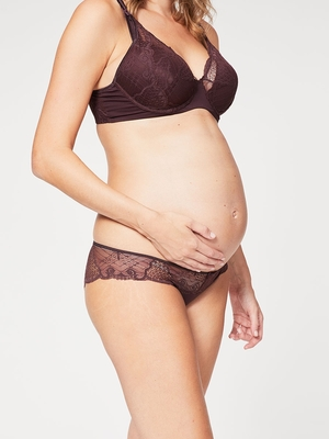 truffles lace brief brown