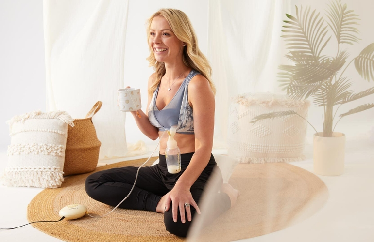 Lotus Yoga Pumping Bra